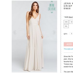 ShowMeYourMuMu Jenn Maxi Show Me the Ring Crisp Sm